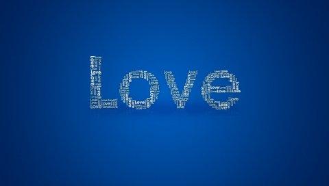 Любовь, линия, поверхность