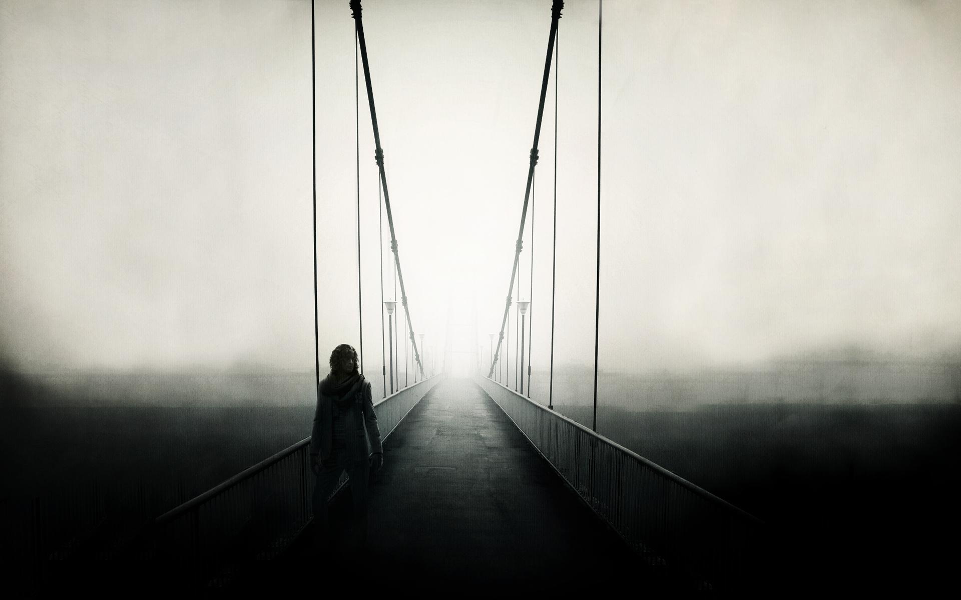светлые картинки на мосту человека результате страдает