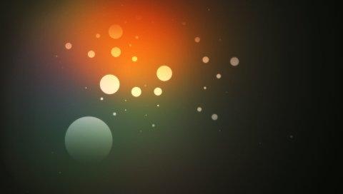 Круги, текстура, абстракция, цвет