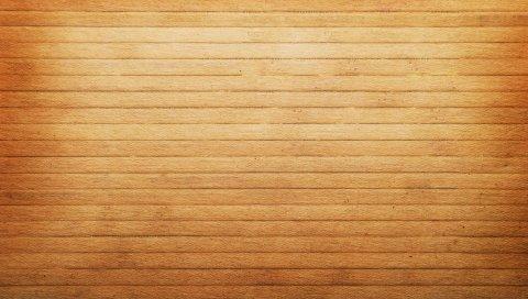 Деревянные, доски, горизонтальные, светлые, фон