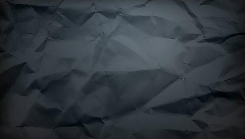 Бумага, фон, смятый, тень