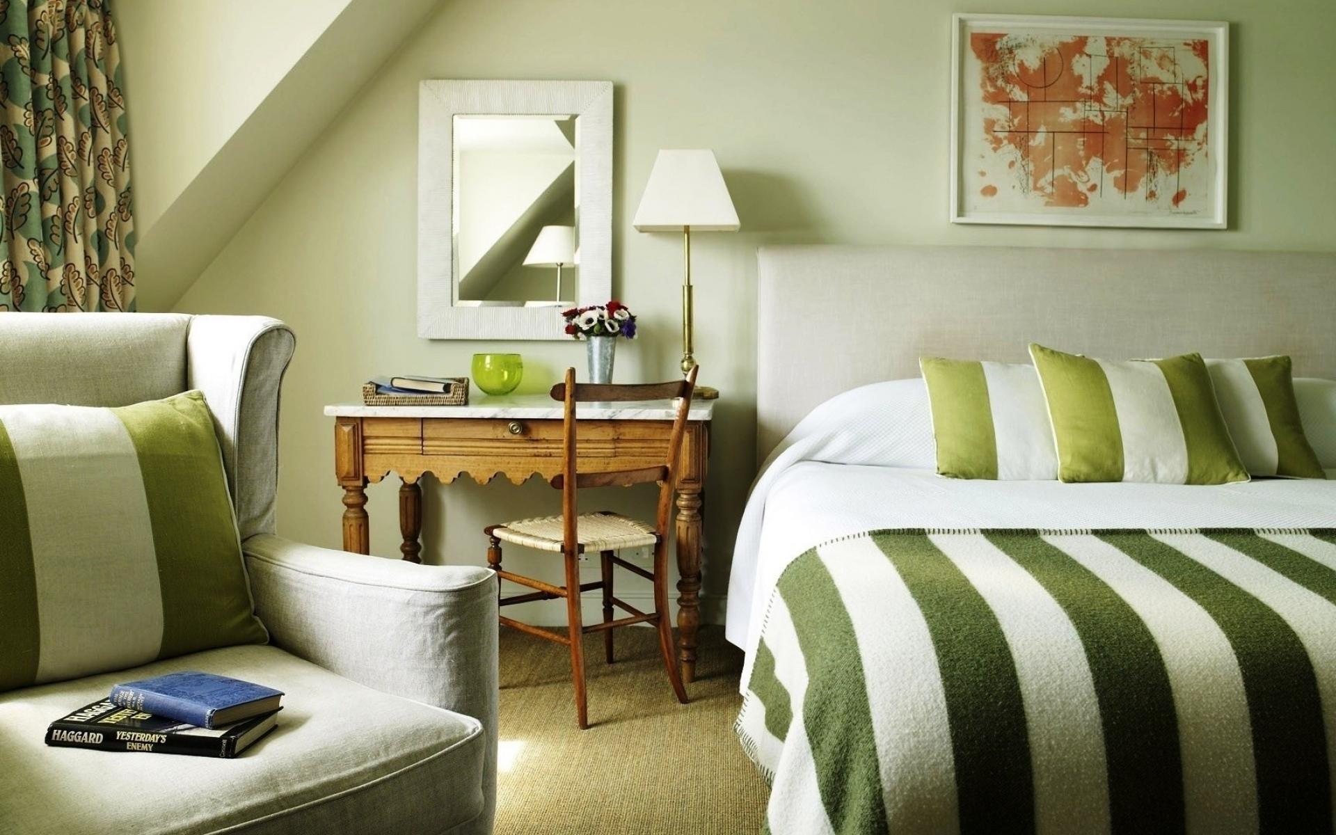 Картинки Комната, дизайн, интерьер, спальня, постельное белье фото и обои на рабочий стол