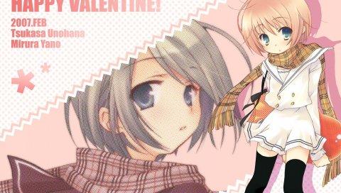Tagme valentine, девушка, шарф,