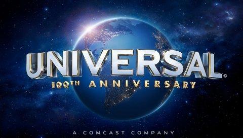 универсальный, логотип, телекомпанию марки