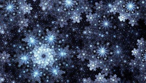 Звезды, линии, тень, тень