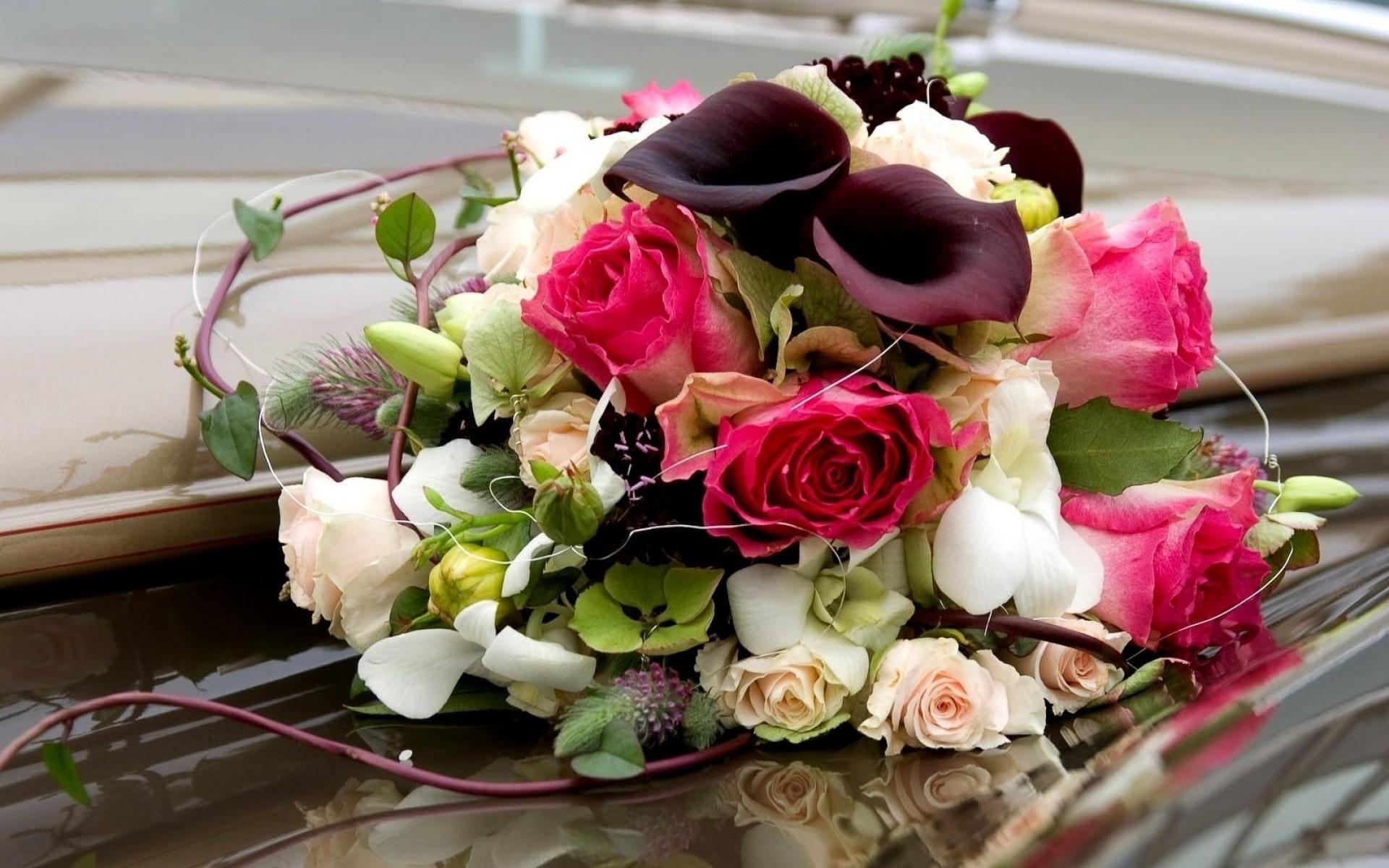красивые цветы на столе фото букеты данном элементе служат