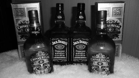 Chivas regal, jack daniels, 12 лет, алкоголь, элитные продукты, черный белый