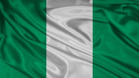 Флаг, символы, цвета, материалы, шелк, нигерия