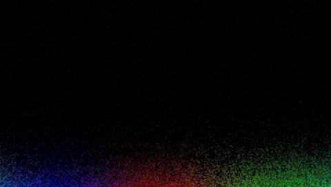 Линии, полосы, цвет, точка, помехи