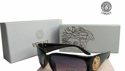 Versace, солнцезащитные очки, угол, модель