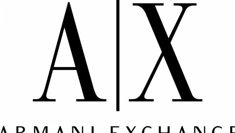 Armani exchange, логотип, бренды