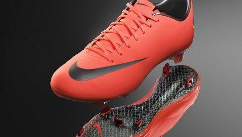 Nike mercurial, ботинки, шипы, стиль