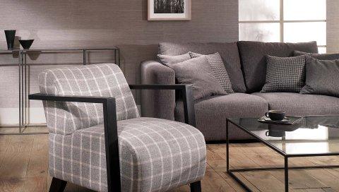 Диван, стул, стол, стиль, интерьер