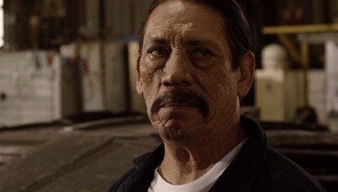 Danny trejo, мужчина, актер, лицо, морщины
