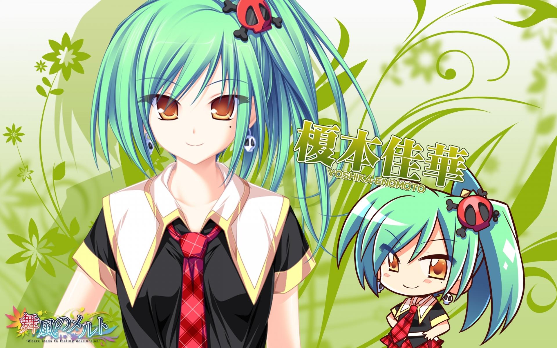 Картинки Tenmaso, maikaze no melt, enomoto yoshika, девушка, аниме, серьги фото и обои на рабочий стол