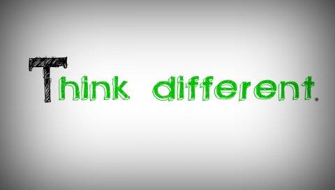Яблоко, белый, серый, зеленый, текст