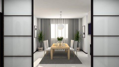 Ваза, дизайн, дизайн интерьера, дом, ковер, ванная комната, мебель, растения, цветы, стиль, стул, тарелка, телевизор