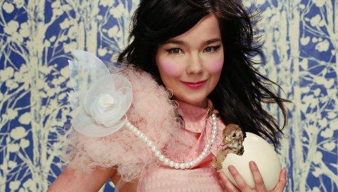 Бьорк, лицо, певец, платье, стиль, знаменитость, азиатский