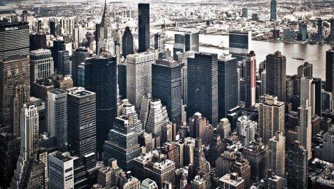 США, Нью-Йорк, небоскребы, государство империи
