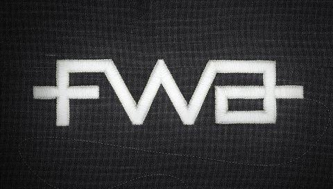 Fwa, логотип, бренд, фон