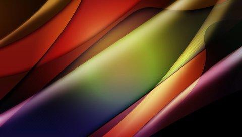 Линии, полосы, темные, цветные