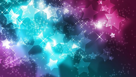 Звезды, фоны, блеск, краска