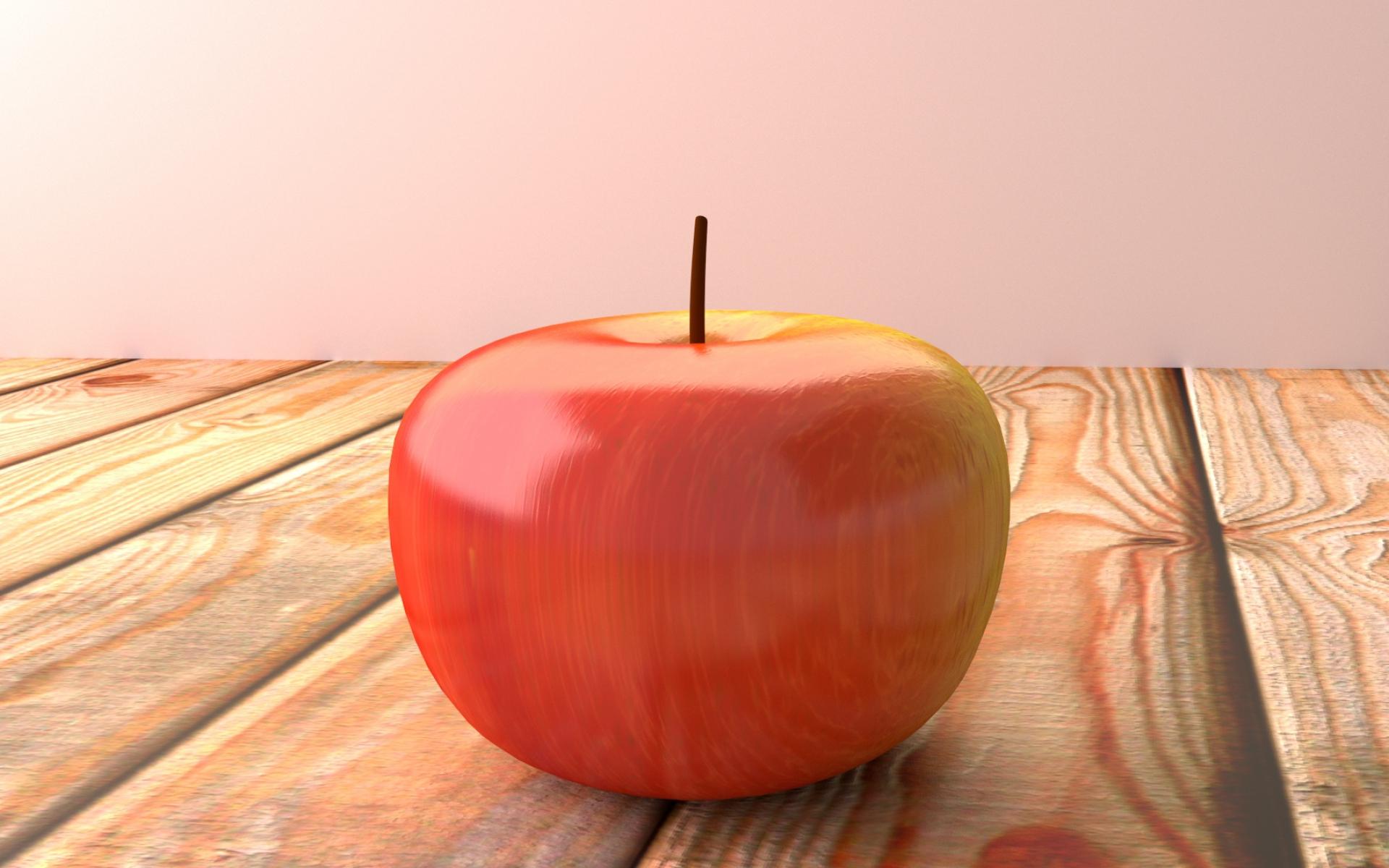 Картинки Яблоко, фрукты, поверхность, дерево фото и обои на рабочий стол