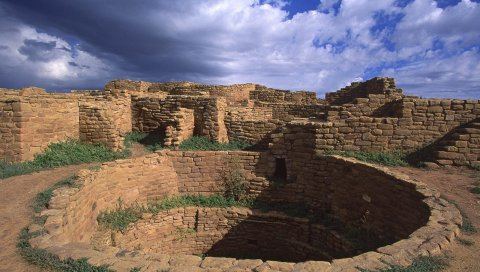 Дыра, камни, архитектура, руины
