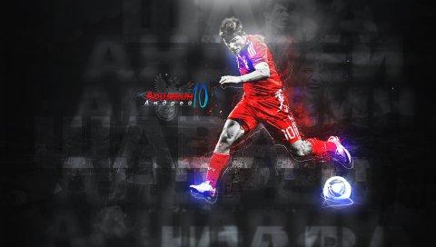 Andrei arshavin, футболист, мяч, спорт, футбол