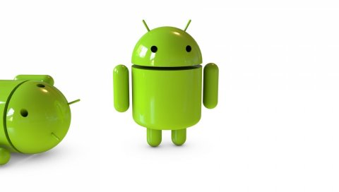 Андроид, робот, стекло