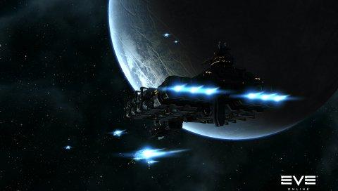 Канун онлайн, планета, космос, космический корабль