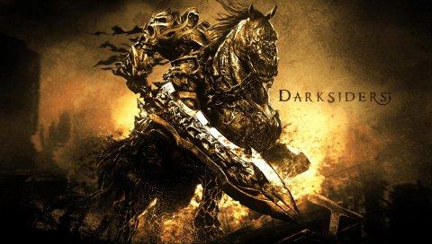 Темнокожие, война, лошадь, меч, имя, руины