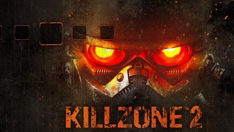 Killzone 2, глаза, фон, солдат