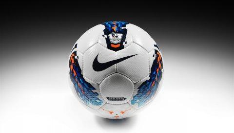 Nike, мяч, спорт, бренд, футбол