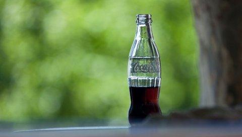 Кока-кола, напиток, бутылка, стекло
