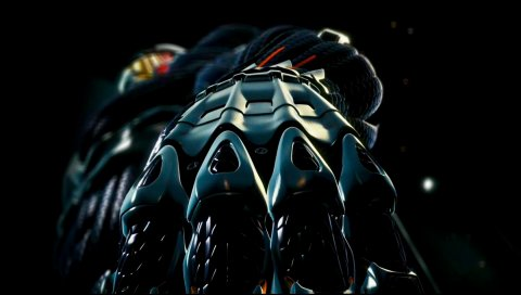 Crysis, рука, оборудование, свет, костюм