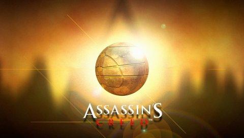 Assassins Creed, имя, игра, мяч, графика, свет