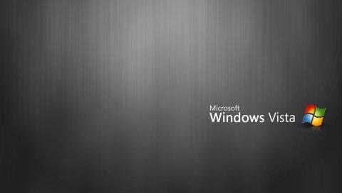 Microsoft, Windows, Vista, система, фон