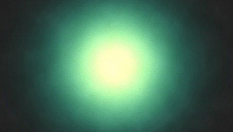 Светлый, круглый, тень, зеленый