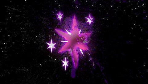 Звезда, форма, размер, тень, блеск, точка