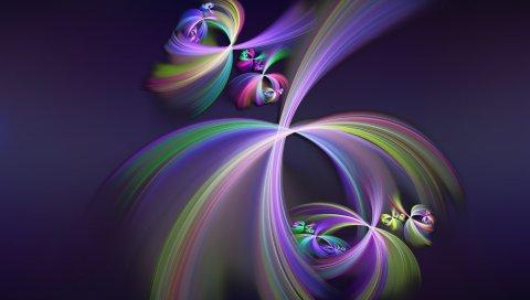 Узор, форма, тень, красочный, фиолетовый
