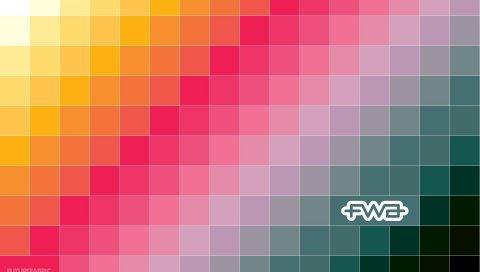 Блоки, форма, цвет