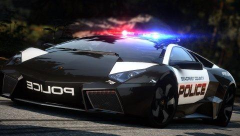 Nfs, потребность в скорости, полиции, автомобиле, дороге