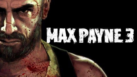 Max payne 3, лицо, характер, кровь, борода, плечо, спрей