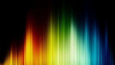 Линии, тени, свет, радуга