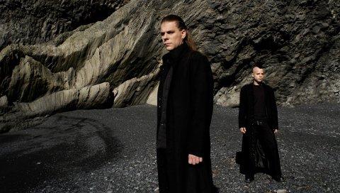 Диатия мечты, группа, камни, пальто, изображение
