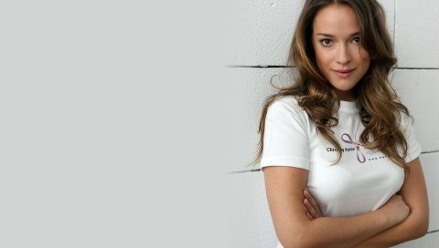 Alicja bachleda, девушка, актриса, модель, глаза, улыбка, серый