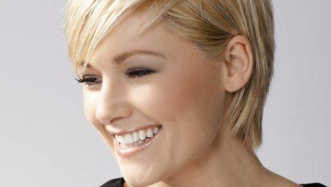 Helene fischer, улыбка, девушка, блондинка, свет