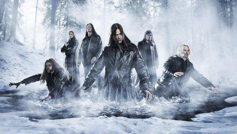 Вечные слезы печали, лес, река, холод, группа