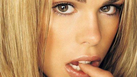 Билли питер, певец, блондинка, губы, лицо